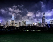 "New York City Photography - ""Midnight in Garden of Good and Evil"" - 11x14 Central Park Print, Matted to 16x20 - ready to frame!"
