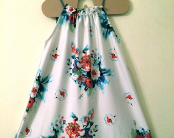 Girls bouquet sun dress