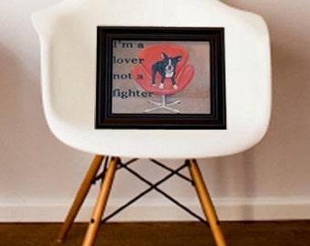 Boston Terrier Original Painting