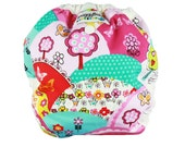 One Size AI2 Cloth Diaper Cover - Happy Hills - FAST SHIPPING