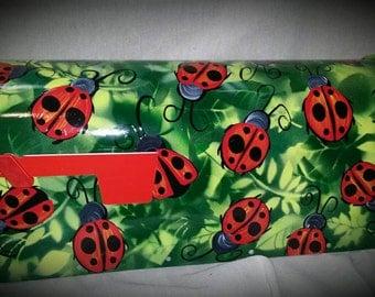 Ladybugs Hand painted mailbox