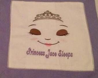 Sleeping/Winking Princess Pillow - Custom