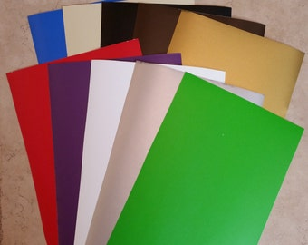 10 sheets 12x24 Adhesive VINYL for your CRICUT Expression - crafts - scrapbooking etc