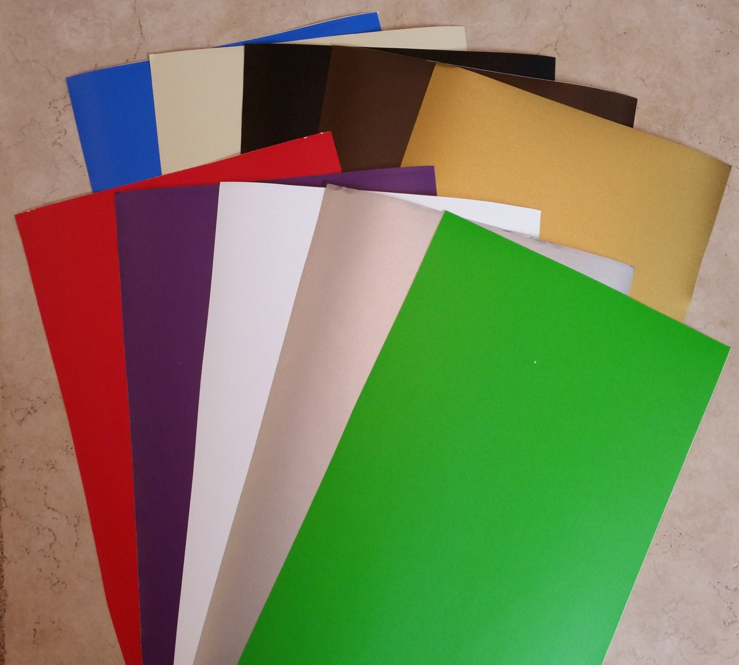 10 Sheets 12x24 Adhesive Vinyl For Your Cricut Expression