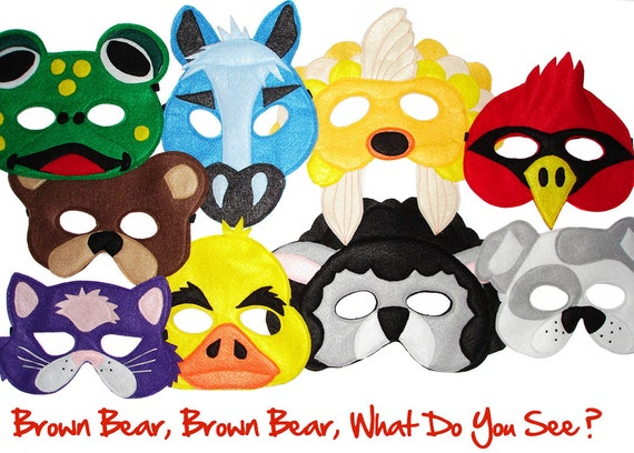 Brown Bear, Brown Bear, What Do You See? Set of 9 Children's Animal ...