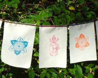 Goddess Lakshmi Diwali Prayer Flag