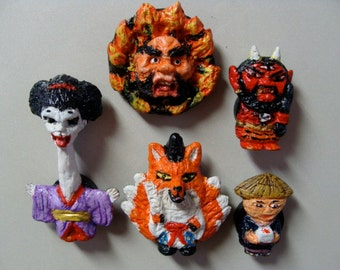 Youkai(Japanese Monsters)Magnet Set C