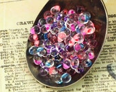 Cotton Candy Fringe Bead Mix - or Beads plus Jump Rings  - A Sweet for the Eyes - 100% Guarantee