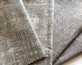 Cloth Napkins - Faux Burlap - Stone - 100% Cotton