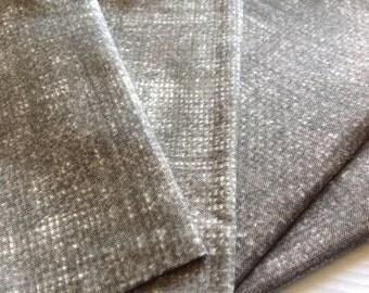 Cloth Napkins - Faux Burlap - Stone - 100% Cotton