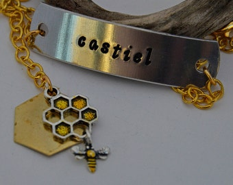Castiel and His Bees Bracelet