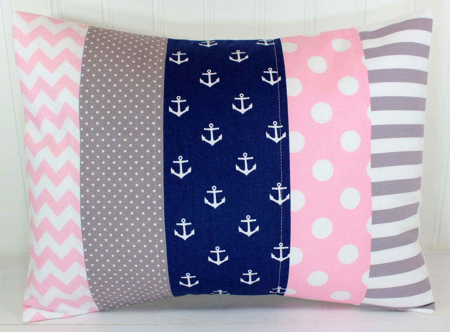 Throw Pillow For Nursery : Nursery Pillow Cover Throw Pillow Cover Anchor by theredpistachio