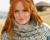 Shells & Fans Neck Warmer Cowl Scarf -SPECIAL ORDER