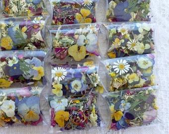 Petal Confetti, Confetti, Wedding Flowers, Wedding Confetti, Biodegradable Confetti, Dried Flowers, Potpourri, Favor, Tossing Flowers