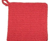 Double Thick Crocheted Potholder
