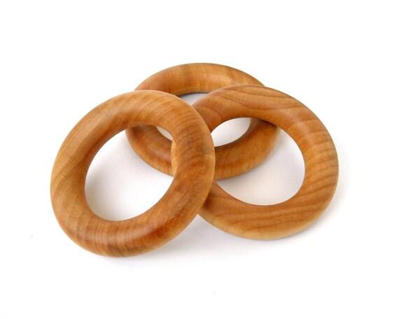 Wooden Teething Rings - Set of 75