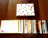 Animal Crossing Stationery Notecards - 25 Card Gift Box Set