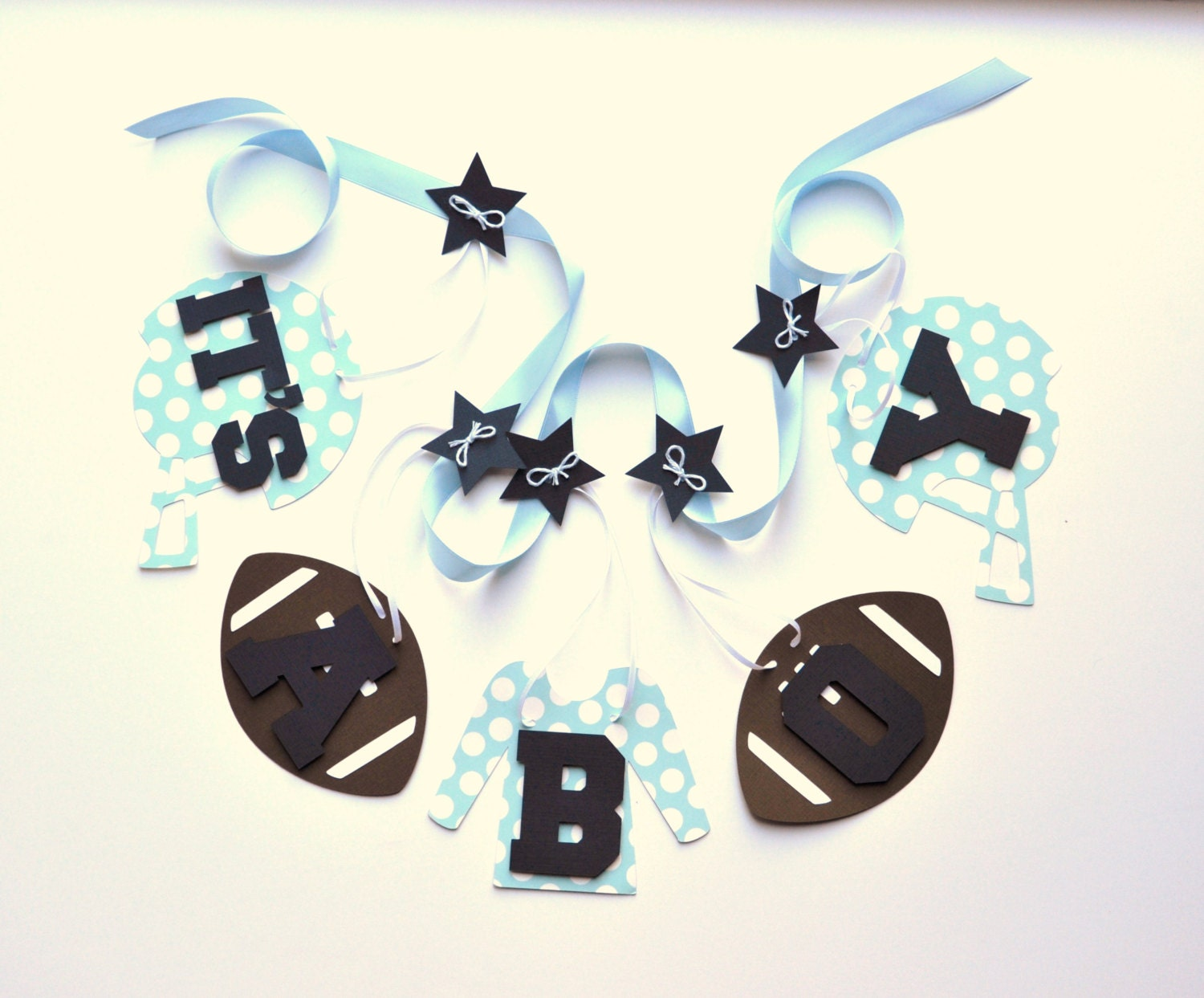 football baby shower decorations blue polka dots it 39 s a