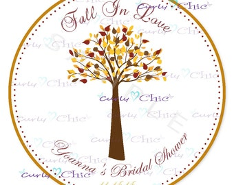 Wedding Stickers -Bride and Groom Labels -Personalized Wedding Stickers -Custom Wedding Labels -Fall in Love Wedding Labels -Paper Labels