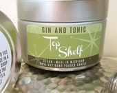 Gin & Tonic Soy Candle - Top Shelf Collection