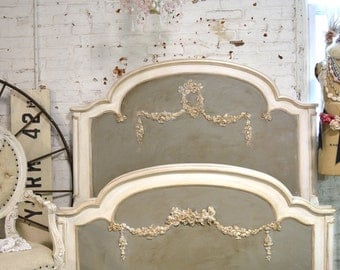 Painted Cottage Romantic French Bed SSBD25