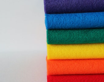 Over the Rainbow - Acrylic Felt Sheets - 6 sheets