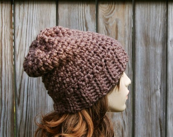 Crochet Pattern Slouchy Beanie Slouchy Hat Slouch Beanie Instant Download PDF
