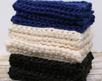 Wool Boot Cuffs Crochet Boot Toppers Boot Socks Choice of Color