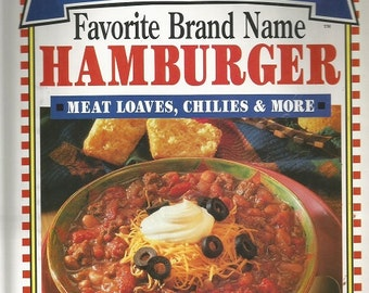 "Favorite Brand Name ""Hamburger"" Cookbook"