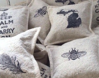 organic lavender dryer sachet, reusable, eco friendly