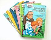 Easy Reader Wonder Books 60s Hc Set of 6 / Young Reader, MCM Illustrations / Vintage Childrens Book
