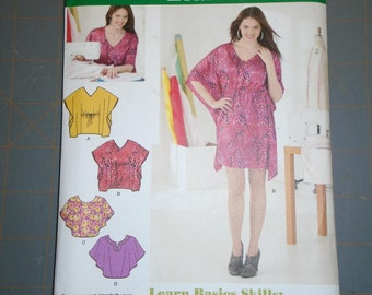 Simplicity 1757 Misses Mini Dress or Tunic and Top Sizes 6-18