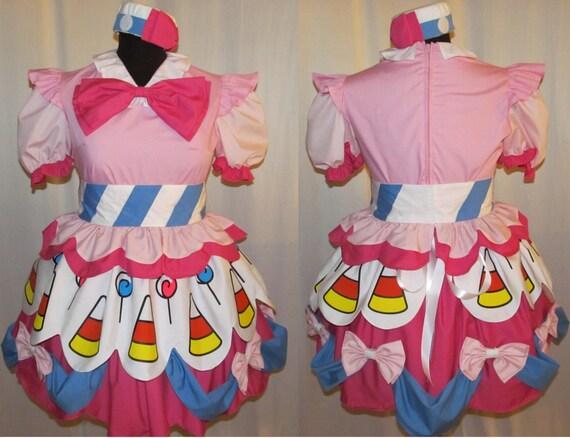 Halloween My Little Pony Pinkie Pie Cosplay Costume Size 4 6 8 10 12 14