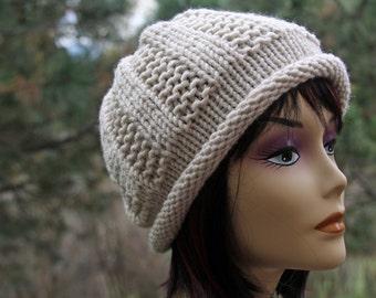 KNITTING PATTERN-Abby, Hat Pattern