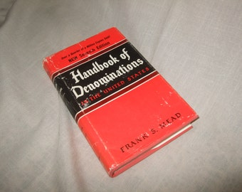 Handbook of Denominations in the United States by Frank S. Mead 7th Edition
