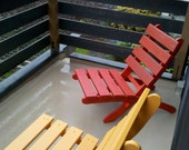 Storable Chairs for Condo & Apartment Balcony - Great for small spaces! - Storable - handcrafted by Laughing Creek