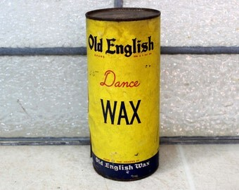 Old English Dance Wax Tin / Floor Dance Wax