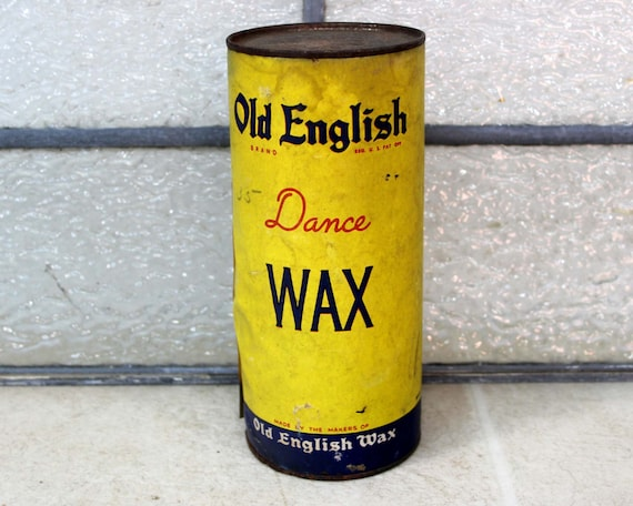Items similar to old english dance wax tin floor dance for Old english floor
