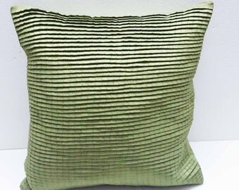 pleated light green cushion decorative cushion modern pillow home decor bed pillow sofa pillow sewing pattern bedroom decor silk cushion