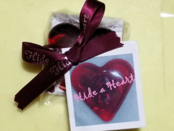 Ruby Red Glass Heart Game