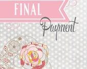 Final Card Payment  - Caitlin