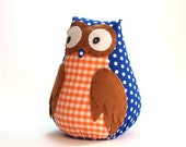Owl toy plush owl staffed owl plush doll toy