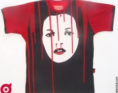 Small unisex The Fall of Kate Dripp ringer shirt BD057