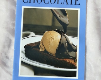 1984 Chocolate from the Editors of Food & Wine 16 page Recipe Cookbook Booklet
