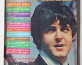 Beatles Beatles Beatles Sept 1966 Datebook Magazine Paul McCartney Beatles Beatles Beatles 1966 1966 1966 Fan Magazine Datebook Magazine 66