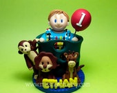 DEPOSIT - Personalized Custom Cute First Birthday Cake Topper