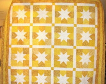 Sparkling Yellow Stars