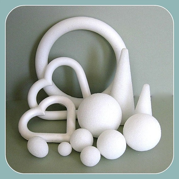 Styrofoam Craft Foam Forms Craft Balls Floral Balls Craft