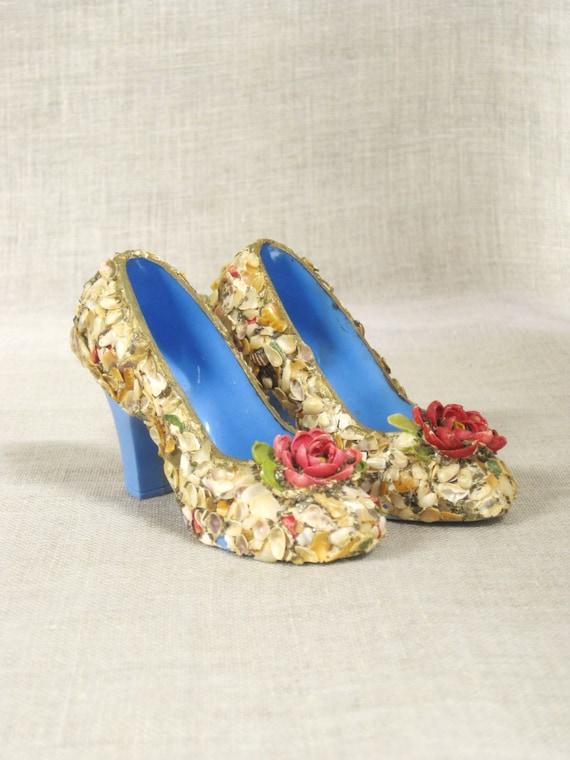 miniature shoes high heels pumps plastic shoes