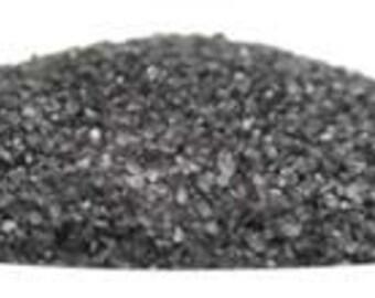 Black Hawaiian Lava Sea Salt 1LB, Natural Salt, Witch's Salt, Molokai